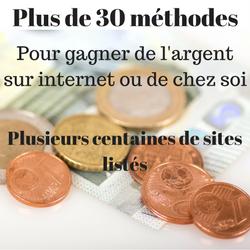 100 sites internet pour gagner de l'argent de poche dès maintenant